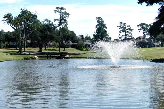 A view over the water from Lake Charles Country Club