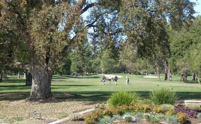 A view of El Macero Country Club