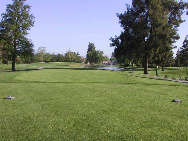 A view of the course at El Macero Country Club