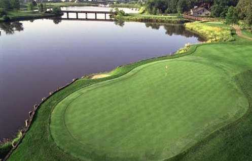 A view of the 2th hole at Orchard Valley Golf Course