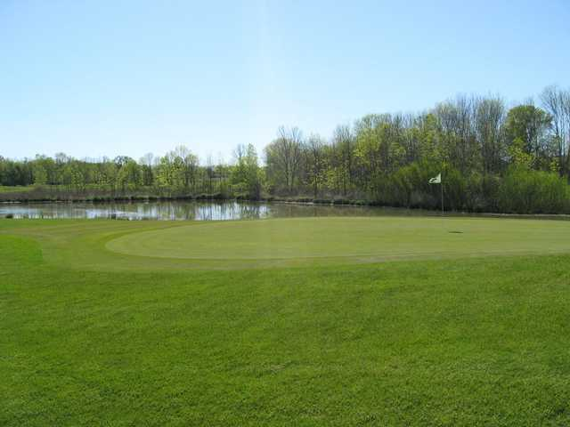 A view of a green from The Links At Rolling Meadows