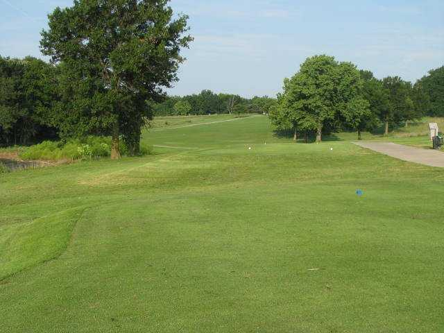 A view from a tee at Paradise Pointe Golf Complex