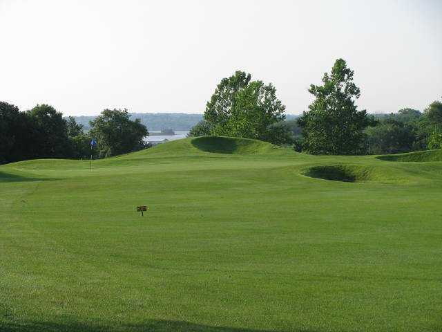 A view from a fairway at Paradise Pointe Golf Complex
