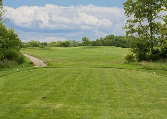 A view from a tee at Hidden Valley Golf Course