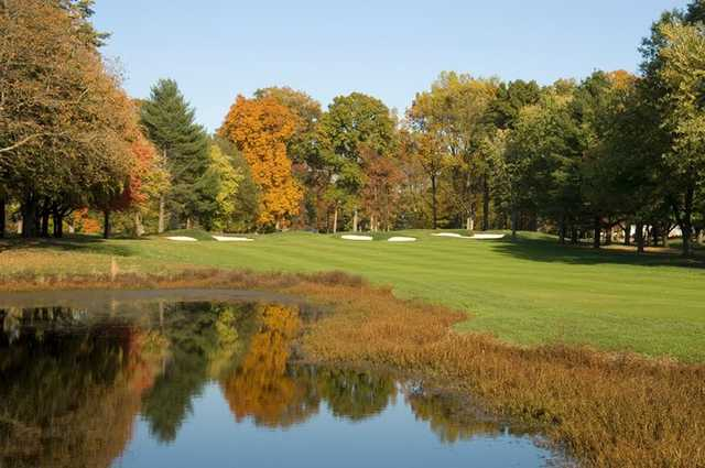 A view from Garrisons Lake Golf Club