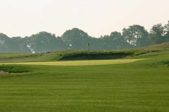 A view green at Red Tail Run Golf Club