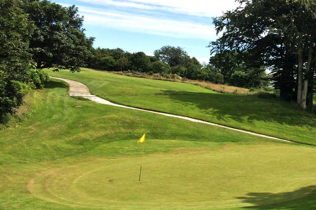A view of a hole at Westhill Golf Club