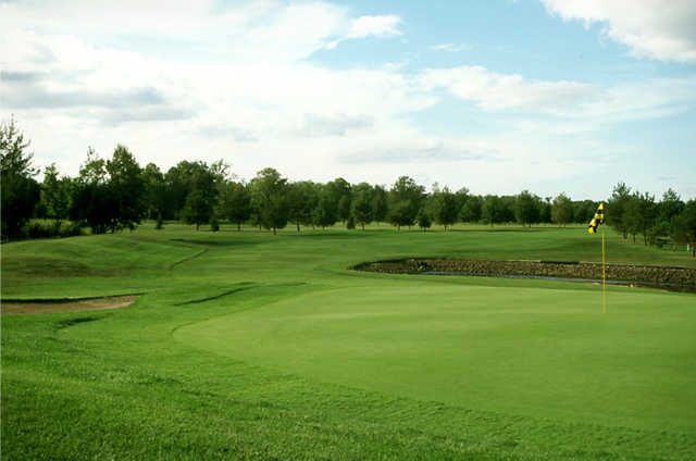 A view of a hole at Fiddlestix Golf Course