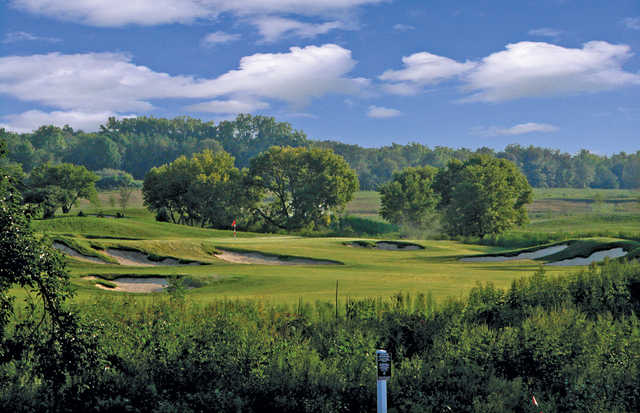 A view of hole #2 at  Bowes Creek Country Club.