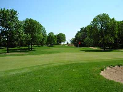 A view of a hole at Waseca Lakeside Golf Club