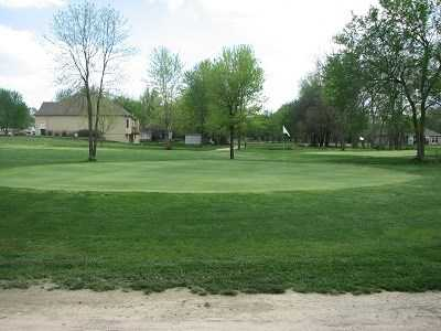 A view of a hole at Blackberry Trails Golf Course