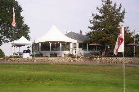 A view from a green at Perryville Country Club