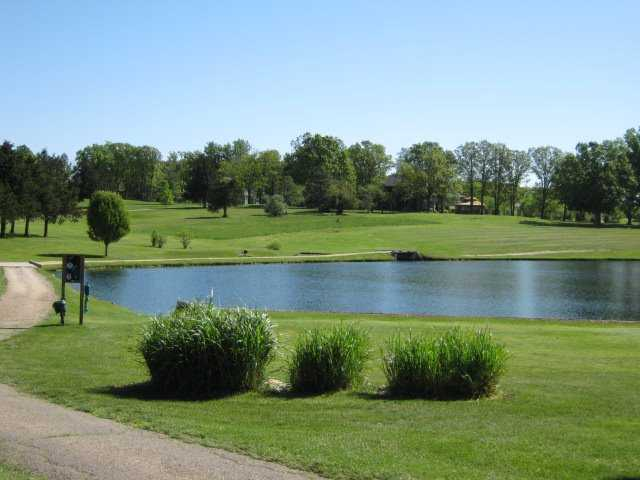 A view over the water from Oak Meadow Country Club