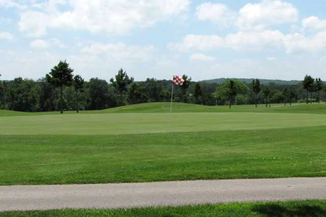 A view of a hole at St. Genevieve Golf Course