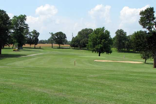 A view of a fairway at St. Genevieve Golf Course