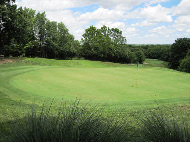 A view of the 5th hole at Shawnee Bend Golf Course