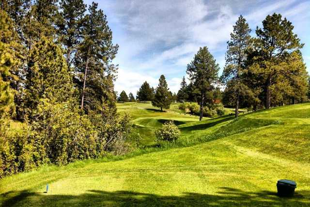 A view from tee #6 at Pine Meadows Golf Club