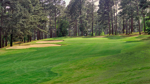 A view from a fairway at Foxfire Resort & Golf Club