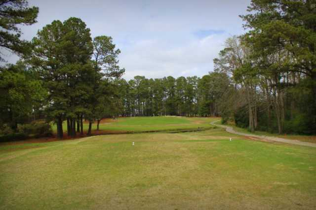 A view from a tee at Maccripine Country Club