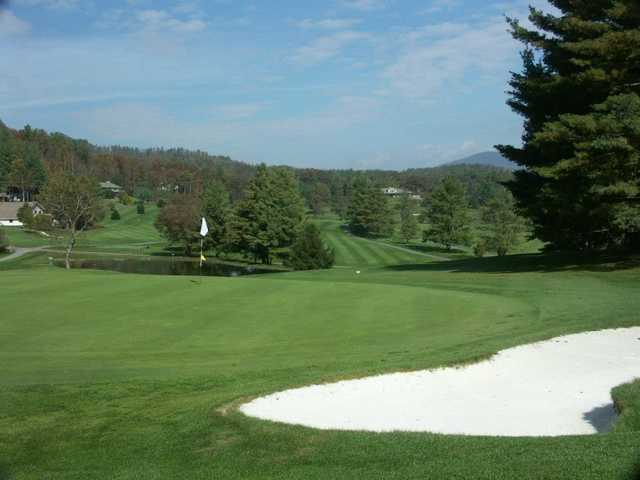 A view of a hole at Grassy Creek Golf & Country Club