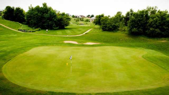 A view of green #5 at Heritage Hills Golf Course