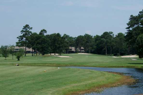 A view from a tee at Olde Point Golf & Country Club