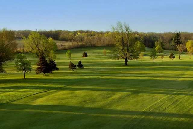 A view of fairways #16 and #17 at Livingston Country Club