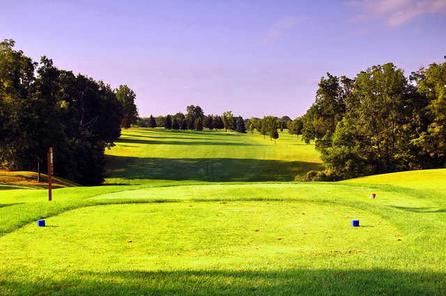 A view from tee #7 at Livingston Country Club