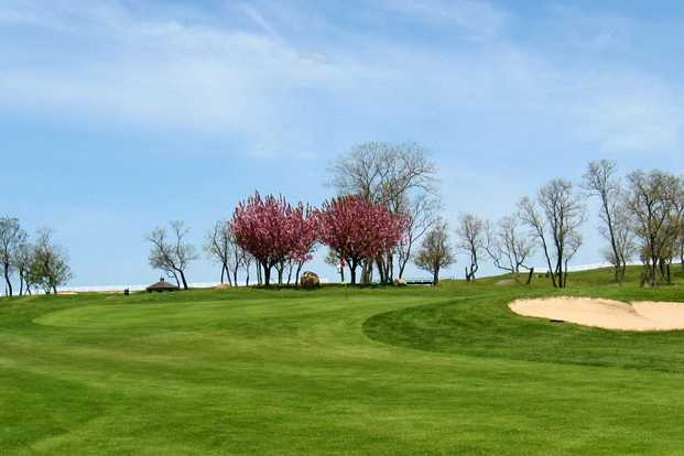 A view of a green at Island's End Golf & Country Club