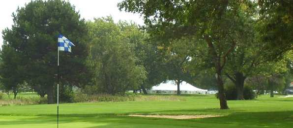 A view from Fresh Meadow Golf Course