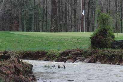 A view over the water from Dogwood Hills Golf Course