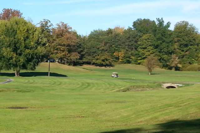A view from Geneva-on-the-Lake Golf Course