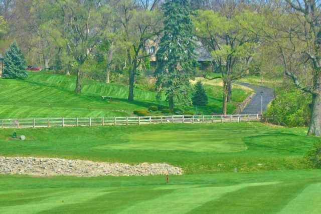 A view from Potter's Park Golf Course