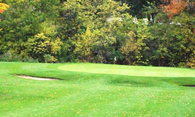 A view of a hole at Lost Creek Golfers Club