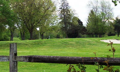 A view of a green at Lost Creek Golfers Club