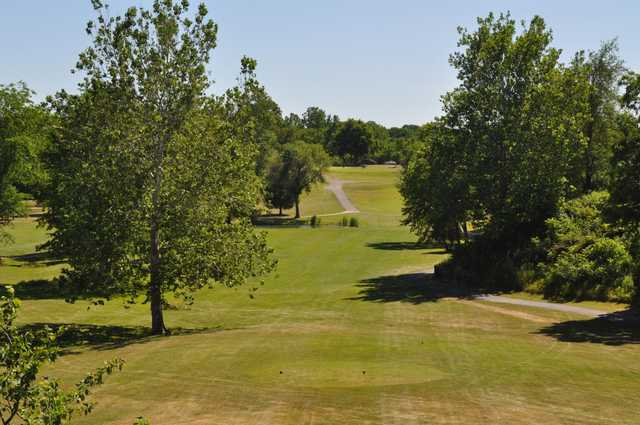 A view from tee #6 at Willard Golf Club