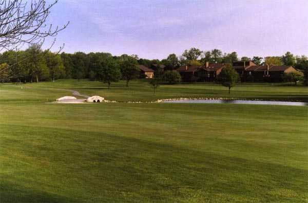 A view of a fairway at Ohio Prestwick Country Club