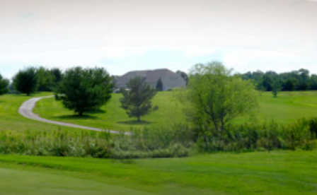 A view of a fairway at Worcester Golf Club