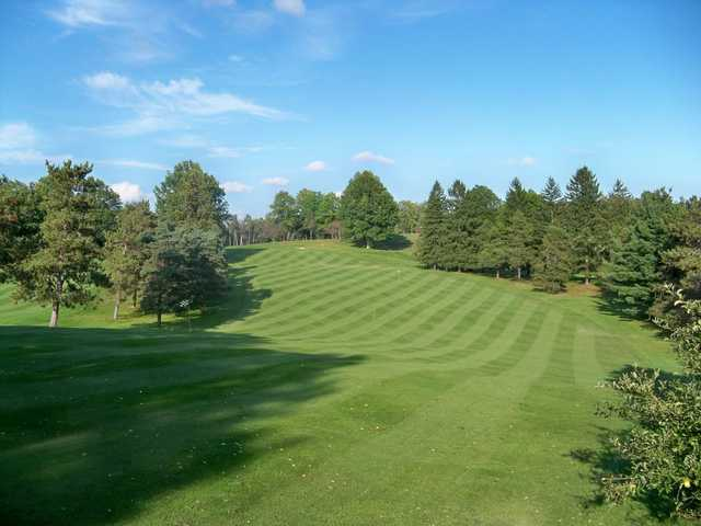 A view of a fairway at DuBois Country Club