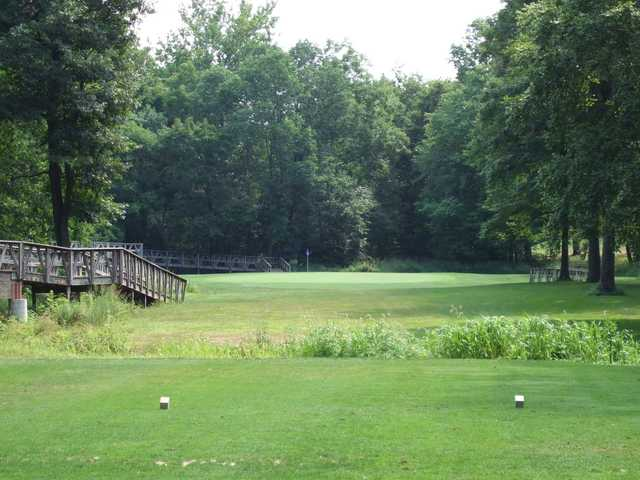 A view from a tee at Skippack Golf Course