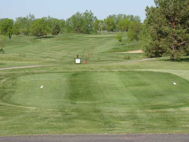 A view from a tee at Broadland Creek National Golf Course
