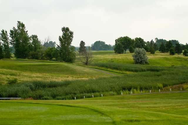 A view from Broadland Creek National Golf Course