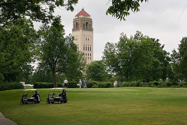 A view from Unity Village Golf Course