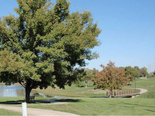 A view of a hole at John Knox Village Golf Course