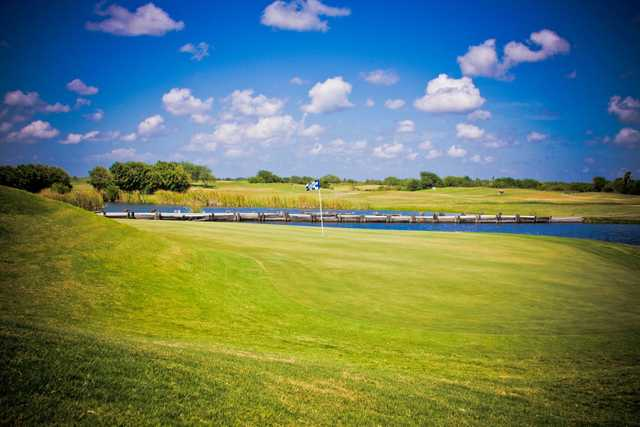 A splendid view of a green at NorthShore Country Club.