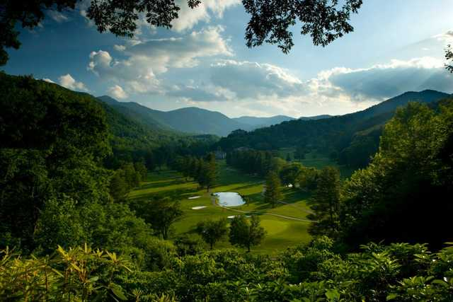 A view from Maggie Valley Resort & Country Club