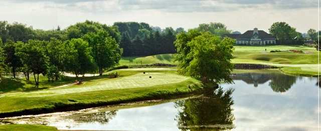 A view from Aldeen Golf Club