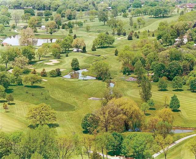 Aerial view from Bonnie Brook Golf Course