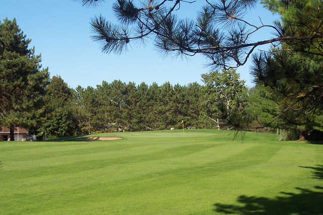 A view from a fairway at Spring Valley Golf Course