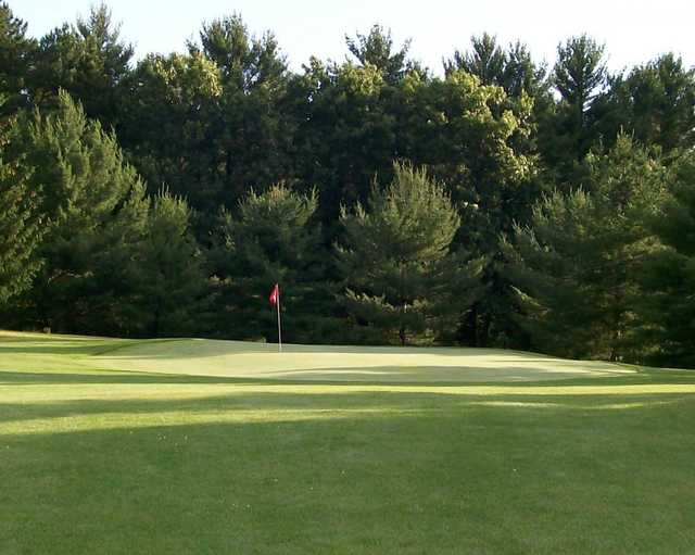 A view of hole #2 at Pine Crest Par III